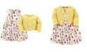 Luvable Friends Dress and Cardigan Set, 2T-5T