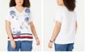 Tommy Hilfiger Plus Size Aphrodite Floral T-Shirt