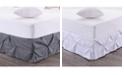 Sweet Home Collection Hudson Pintuck Ruffled Queen Bedskirt
