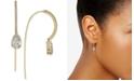 Eliot Danori Cubic Zirconia Threader Earrings, Created for Macy's