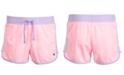 Champion Little Girls Colorblocked Mesh Shorts