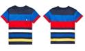 Polo Ralph Lauren Toddler Boys Striped Cotton Jersey T-Shirt