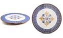 Martha Stewart Collection La Dolce Vita Wood & Enamel Lazy Susan, Created for Macy's