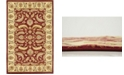 Bridgeport Home Passage Psg1 Red 5' x 8' Area Rug