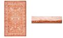 """Bridgeport Home Norston Nor1 Terracotta 3' 3"""" x 5' 3"""" Area Rug"""
