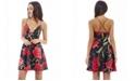 AX Paris Printed Strappy Skater Dress