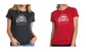 LA Pop Art Women's Premium Word Art T-Shirt - Sloth