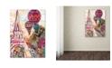 "Trademark Global Natasha Wescoat 'Ballons Sur Paris' Canvas Art - 18"" x 24"""