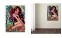 "Trademark Global Natasha Wescoat 'Rainbow Angel' Canvas Art - 18"" x 24"""