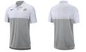 Nike Men's Purdue Boilermakers Dri-Fit Colorblock Breathe Polo