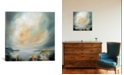 """iCanvas Sun Reflect by J.A Art Gallery-Wrapped Canvas Print - 37"""" x 37"""" x 0.75"""""""