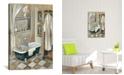 "iCanvas French Bath Iii by Silvia Vassileva Gallery-Wrapped Canvas Print - 26"" x 18"" x 0.75"""