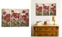 """iCanvas Daydreaming Flowers Red by Silvia Vassileva Gallery-Wrapped Canvas Print - 40"""" x 60"""" x 1.5"""""""