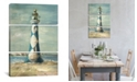 "iCanvas Lighthouse Iv by Danhui Nai Gallery-Wrapped Canvas Print - 60"" x 40"" x 1.5"""