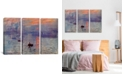 """iCanvas Sunrise Impression by Claude Monet Gallery-Wrapped Canvas Print - 40"""" x 60"""" x 1.5"""""""