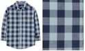 Carter's Baby Boys Plaid Cotton Shirt