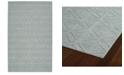 Kaleen Imprints Modern IPM08-79 Light Blue 2' x 3' Area Rug