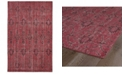 "Kaleen Restoration RES01-25 Red 5'6"" x 8'6"" Area Rug"