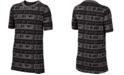 Nike Big Boys Show Your Stripes Printed T-Shirt