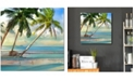 """Courtside Market A Found Paradise III 16"""" x 16"""" Gallery-Wrapped Canvas Wall Art"""