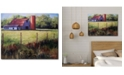 """Courtside Market Ark Barn 20"""" x 24"""" Gallery-Wrapped Canvas Wall Art"""