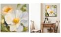 "Courtside Market Sunbeam Flowers II 20"" x 20"" Gallery-Wrapped Canvas Wall Art"