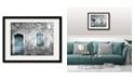 """Courtside Market Vintage Façade 16"""" x 20"""" Framed and Matted Art"""