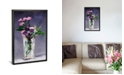"""iCanvas Ragged Robins and Clematis by Edouard Manet Gallery-Wrapped Canvas Print - 40"""" x 26"""" x 0.75"""""""