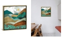 """iCanvas """"Golden Hills"""" by Spacefrog Designs Gallery-Wrapped Canvas Print"""