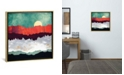 """iCanvas """"Spring Moon"""" by Spacefrog Designs Gallery-Wrapped Canvas Print"""