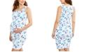 Motherhood Maternity Ruched Dress
