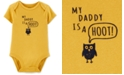 Carter's Baby Boys Daddy Is A Hoot Cotton Bodysuit