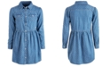 GUESS Big Girls Cotton Printed Denim Shirt