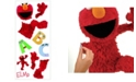 York Wallcoverings Sesame Street Elmo Peel and Stick Giant Wall Decal