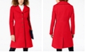 Tommy Hilfiger Petite Single-Breasted Peacoat, Created for Macy's