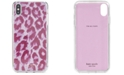kate spade new york Glitter Panthera iPhone XS Case