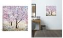 "iCanvas Cherry Blossom Festival Ii by Katrina Craven Wrapped Canvas Print - 26"" x 26"""