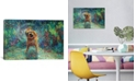 "iCanvas Shakin` Jake by Iris Scott Wrapped Canvas Print - 26"" x 40"""