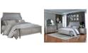 Furniture Windsor Silver Queen Bed