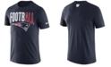 Nike Men's New England Patriots Dri-Fit Cotton Football All T-Shirt