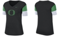 Nike Women's Oregon Ducks Breathe V-Neck T-Shirt