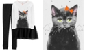 Carter's Little & Big Girls 3-Pc. Cat Tutu Pajama Set