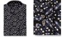 Sean John Men's Tall Classic/Regular-Fit Floral-Print Dress Shirt