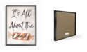 """Stupell Industries Its All About the Candy Old Fashioned Illustration Framed Giclee Art, 11"""" x 14"""""""
