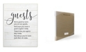"""Stupell Industries Guests Feel At Home Wall Plaque Art, 12.5"""" x 18.5"""""""