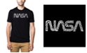 LA Pop Art Men's Premium Word Art T-Shirt - Worm Nasa