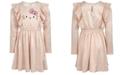 Hello Kitty Toddler Girls Graphic-Print Crinkle Dress