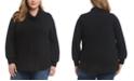 Karen Kane Plus Size Cowlneck Sweater