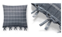 "Lauren Ralph Lauren Eva Windowpane 18"" Square Decorative Throw Pillow"