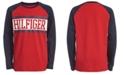 Tommy Hilfiger Big Boys Davis Colorblocked Logo T-Shirt